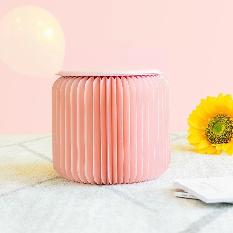 18 taburete de papel rosa coral plegable taburete de diseño de moda estilo web taburete de celebridad muebles de moda