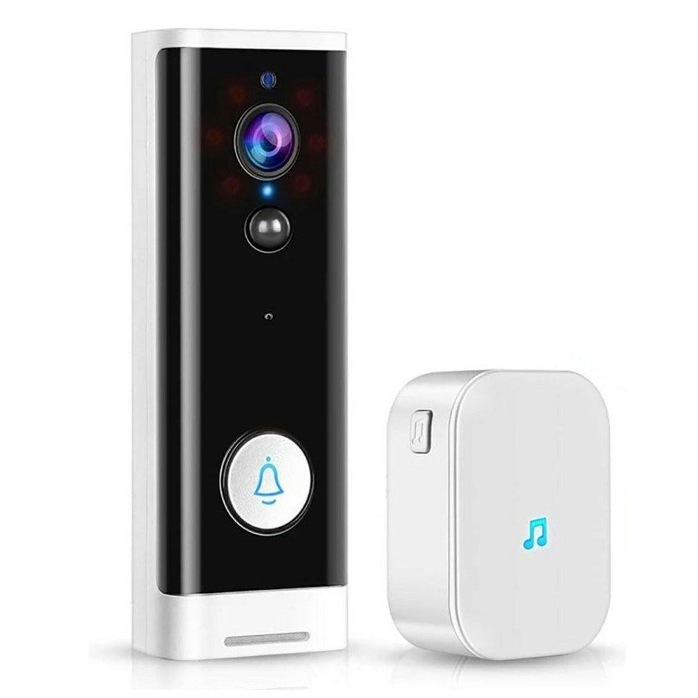 Smart Wireless Video Doorbell Camera Outdoor Waterproof PIR Motion Detection Doorbell 1080P Intelligent Monitoring Home Doorbell