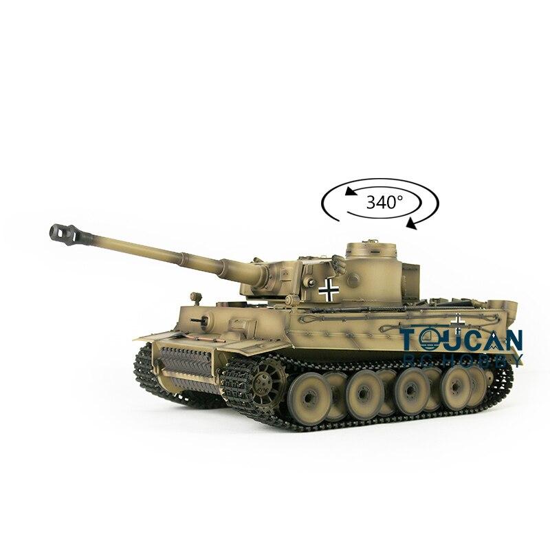 1/16 henglong 7.0 plástico ver tigre alemão i rc tanque 3818