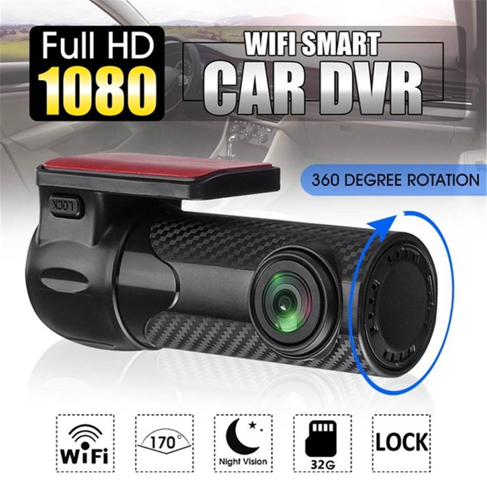 Câmera 170 ° grande angular do dvr do carro & gravador da came de hd 1080p do traço da visão noturna do dvr do carro