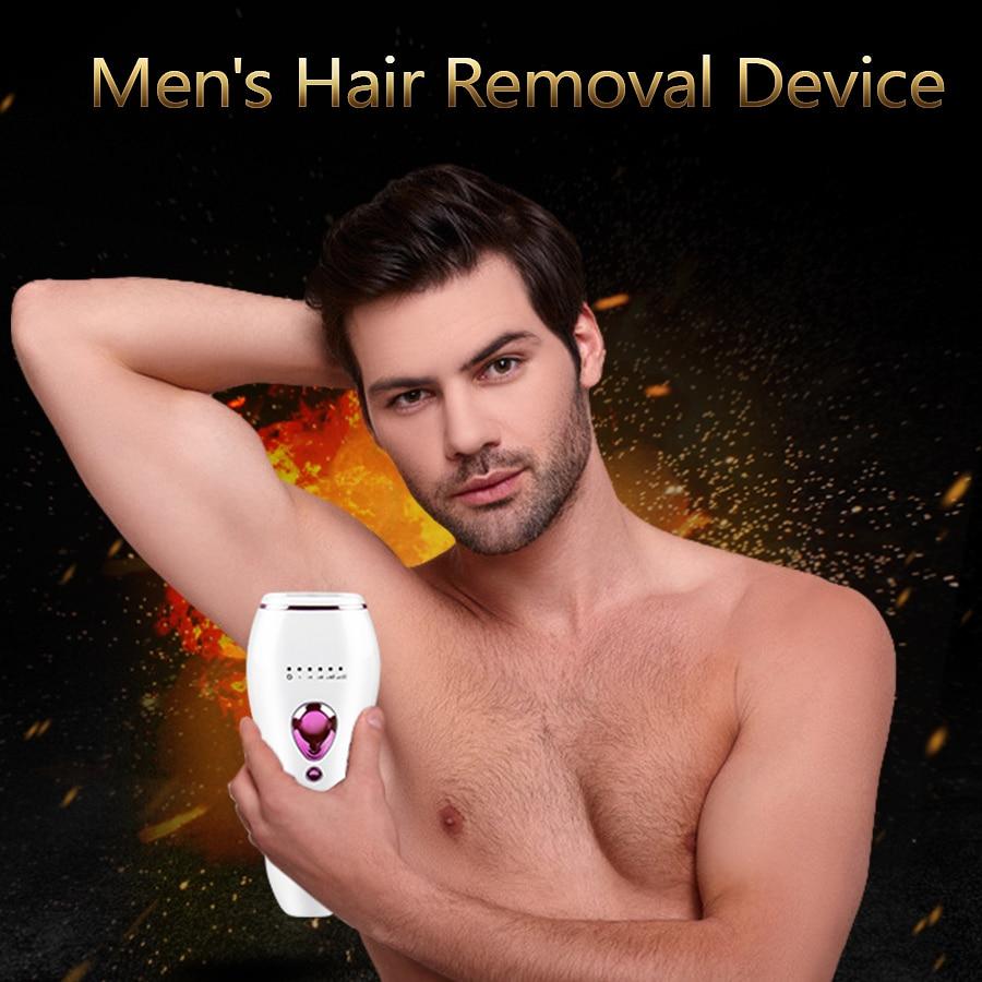 IPL Hair Removal Men Laser Epilator Photoepilation Home Facial Professional Pulsed Light Epilator De