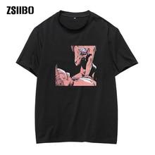 interest T-shirt love to kill you print man's T-shirt Fashion funny anime Harajuku style t shirt hip hop streetwear off white