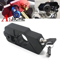 motorcycle handlebar lock brake clutch security safety theft protection scooter locks for yamaha t max530 nmax155 xmax 300