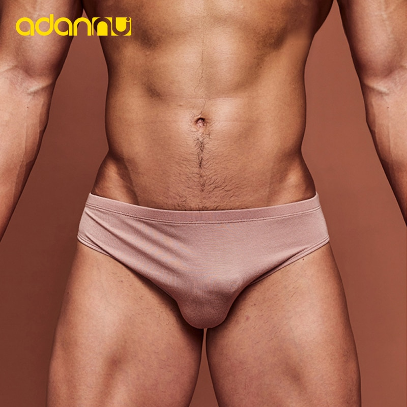 9 Color Fashion Men Underwear Sexy Men Briefs Thin Section Breathable Modal Soft Cool Low Waist Unde