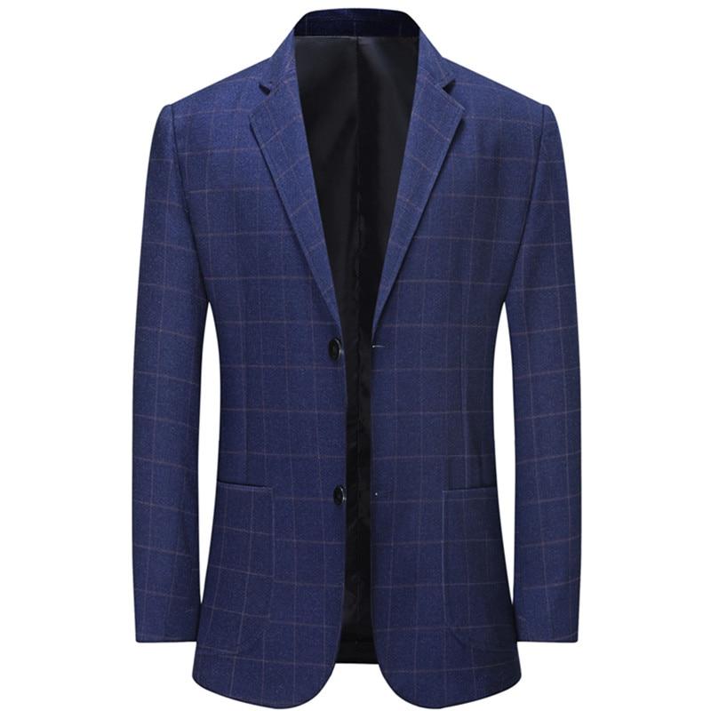 Блейзеры xadrez casaco masculino, официальный лазер, деловой стиль, повседневная одежда