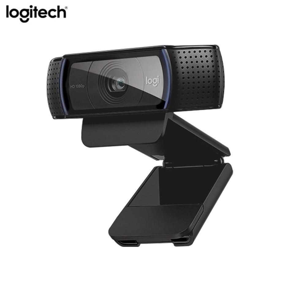 Logitech C920e hd Webcam Video Chat Recording Usb Camera HD Smart 1080p Web Camera for Computer Logitech C920 upgrade version