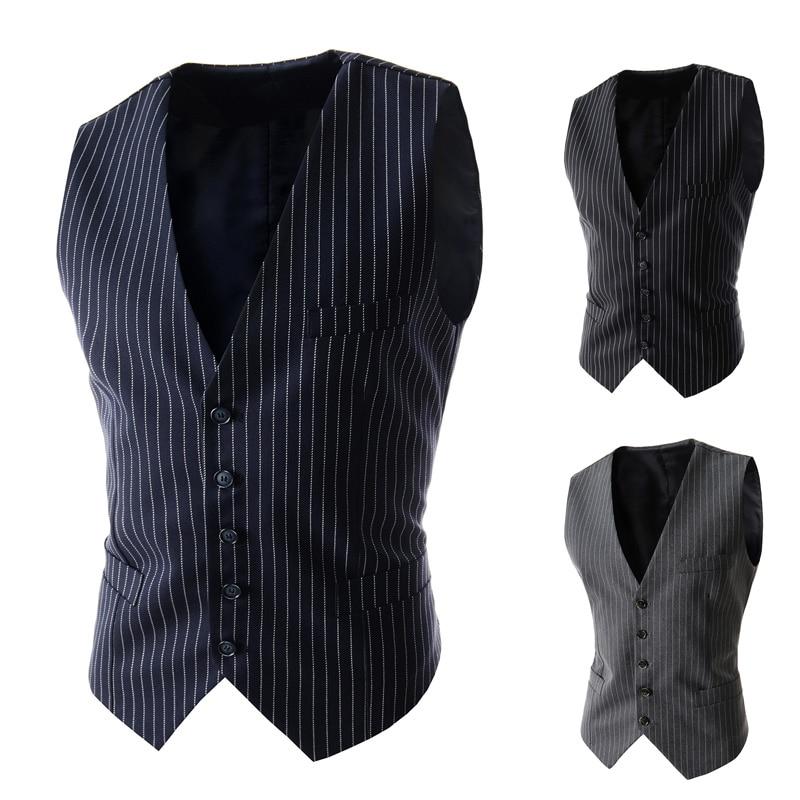 سترة رجالية مخططة بصدر واحد ، ملابس غير رسمية نحيفة ، سترة عمل ، سترات رجالية ، بدلة ، بدلة ، 2021