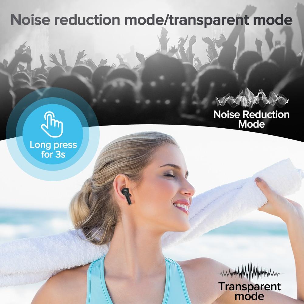 Joyroom TA2 True Wireless ANC noise reduction bluetooth headset Calling bluetooth earphone Stereo waterproof Bluetooth 5.2 enlarge