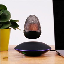 NEW LED Night Light Levitating Air Bluetooth audio Rotation Magnetic Suspension Floating Lamp For Be