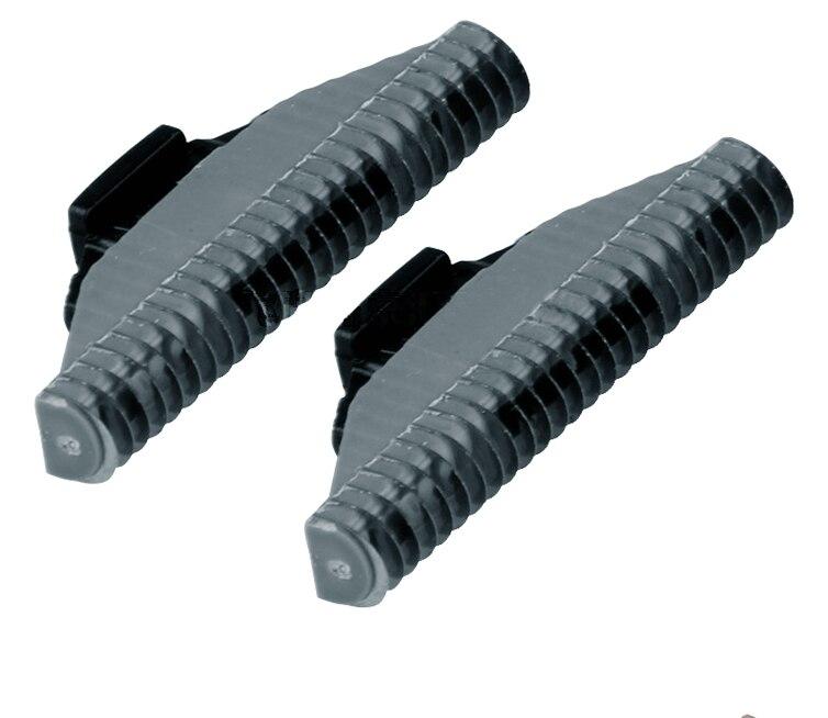 2 pçs lâmina de barbear substituição cabeças para philips qc5510 qc5530 qc5550 qc5580 qc5570 qc5560