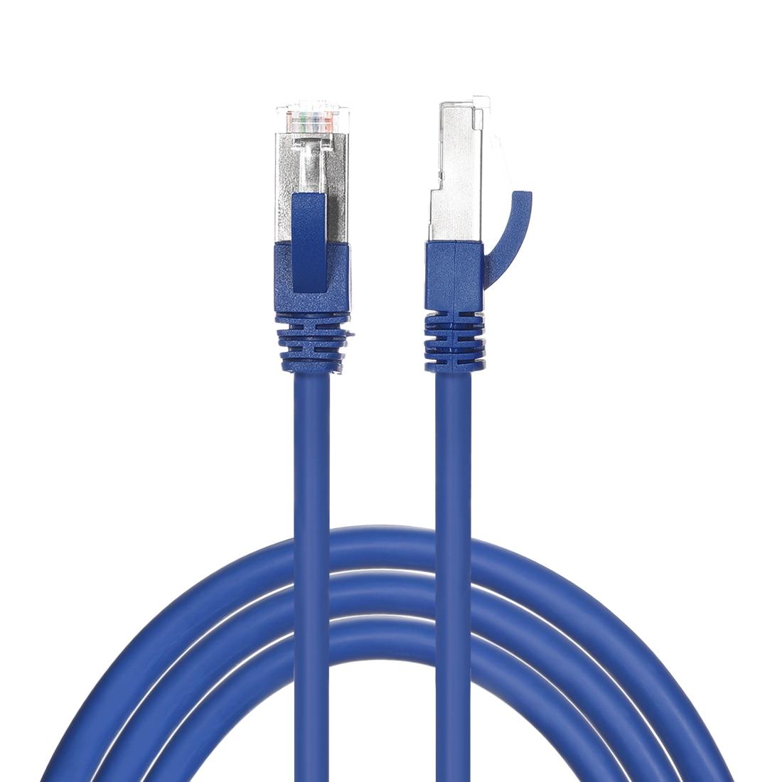 Uxcell-Cable Ethernet Cat7 de 1M/3 pies, Cable de parche de red RJ45...