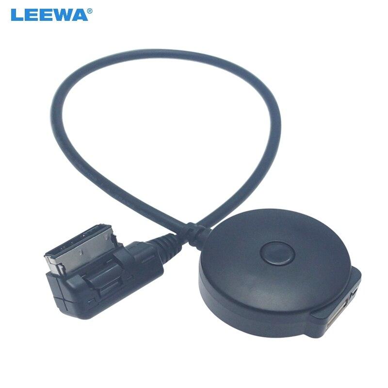 LEEWA автомобильный Радио медиа в MDI/AMI Bluetooth 4 0 USB кабель адаптер для зарядки Mercedes Benz