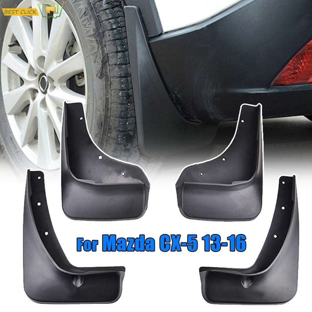 Juego de guardabarros para Mazda CX-5 CX5 2012 2013 2014 2015 2016, guardabarros, accesorios para coche