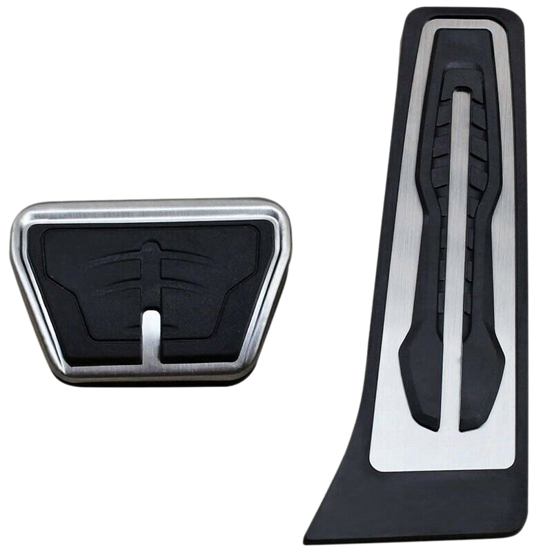 Freno de acero de Pedal de acelerador tapa accesorios para BMW X3 X4 X5 X6 1 2 3 4 5 6 7 de la serie