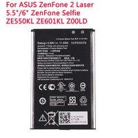 Аккумулятор C11P1501 2900 мАч для ASUS ZenFone 2 Laser 5,5 дюйма/6 дюймов ZenFone Selfie ZE550KL ZE601KL Z00LD Z011D ZD551KL Z00UD