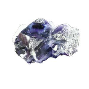 40,0 натуральные темно-фиолетовые образцы из флюорита и минералов для интерьера, домашняя мебель