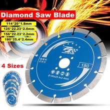 Durable 114/125/156/180mm diamant scie lame bois coupe disque bois scie disque Multitool bois coupe Angle meuleuse pour bois