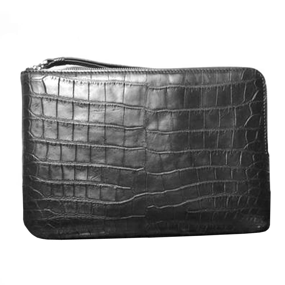 hongsen male  crocodile belly  male  Hand bag   large capacity  Hand caught bag men clutch bag male bag