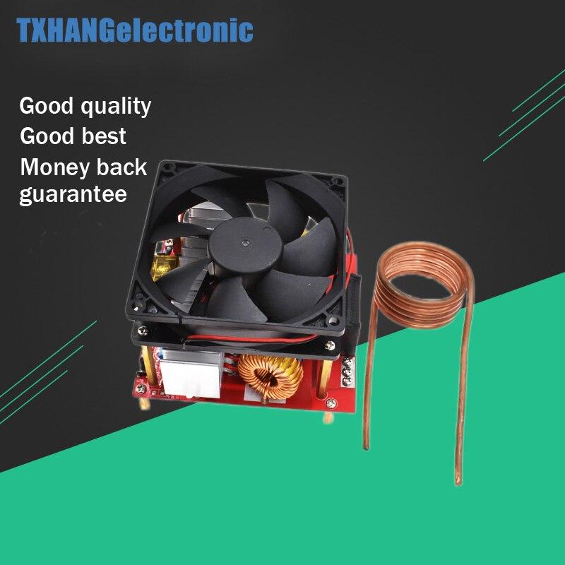 20A ZVS voltaje de inducción placa de calentamiento de inducción Flyback controlador calentador DIY cocina + bobina de encendido