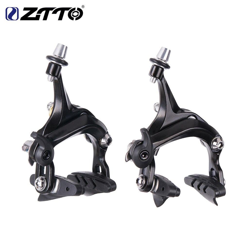 1 Pair ZTTO Bike Brake Caliper Road Fixie Bicycle V-Brake C-Brake Upgrade Replacement Calipers Part