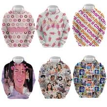 Charli Damelio 3D Printed Hoodie Adult Sweatshirt 2020 New Hot 3d Print Winter Long Sleeve Plus Size