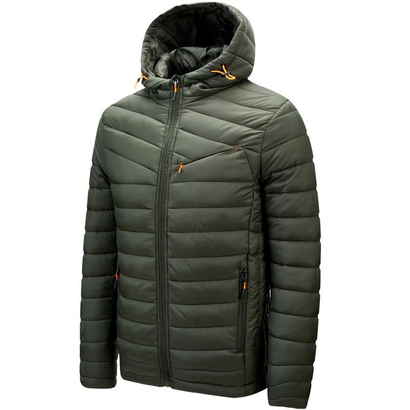Мужская зимняя теплая куртка с капюшоном, уличная ветрозащитная парка с капюшоном, мужская куртка для походов, кемпинга, альпинизма, трекки...