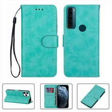For TCL 20 SE  TCL20SE  TCL20 20SE Wallet Case High Quality Flip Leather Phone Shell  Protective Cov