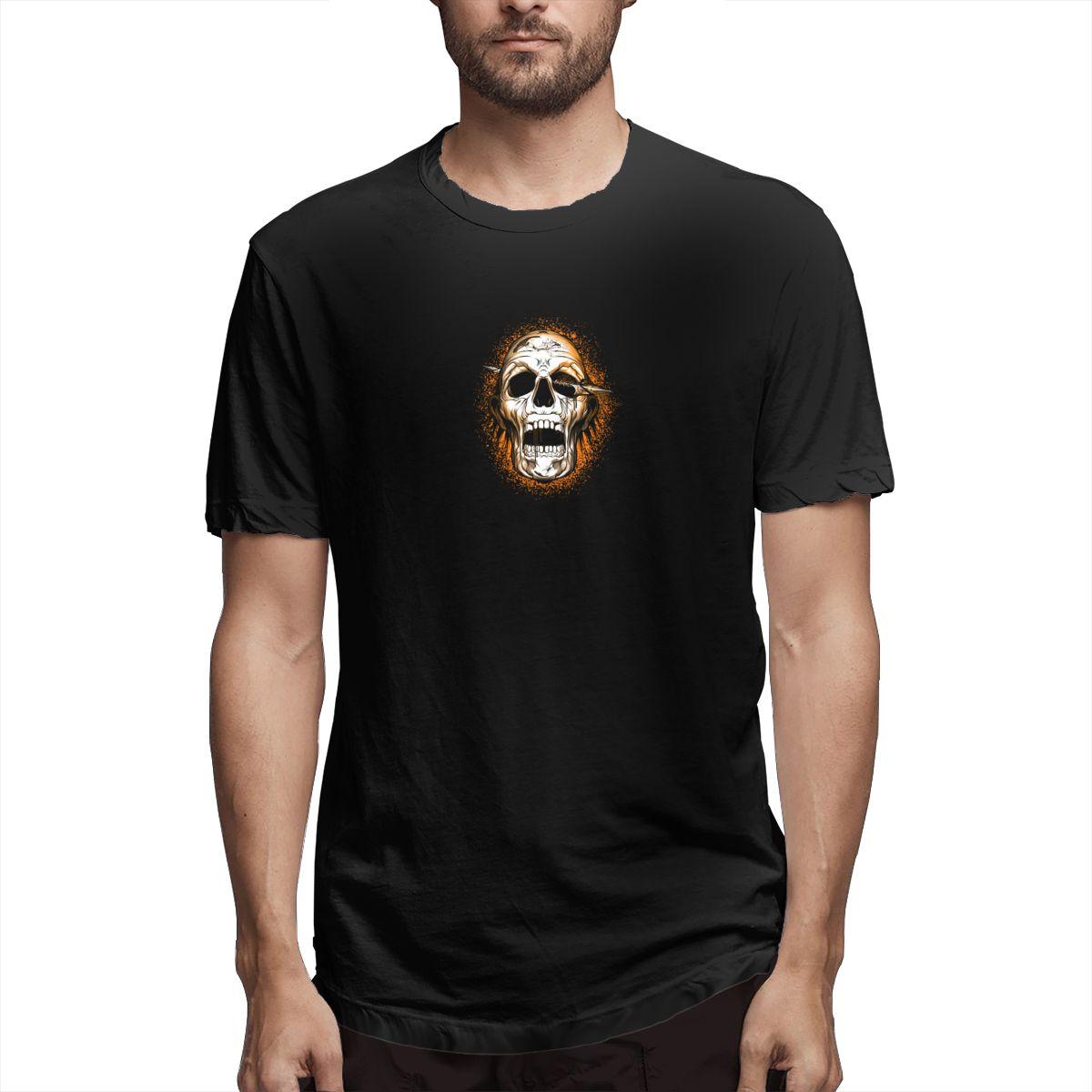 T-shirt Mannen Arrow Terreur Schedel Zomer Casual Jongen Meisje Overhemd 2020 Korte Mouw T-shirt Print Hip Hop Top Tees