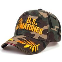 Taktische UNS Marines Kappe Mens Fashion Baseball Caps UNS Armee Hut Hip Hop Snapback Caps Navy Seal Casquette Tactical Cap flut hüte