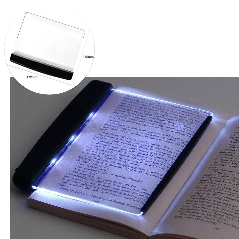 Luces de libro LED creativas luces de lectura de Panel plano protección de los ojos lámparas LED de viaje portátiles lámparas de escritorio de Panel LED