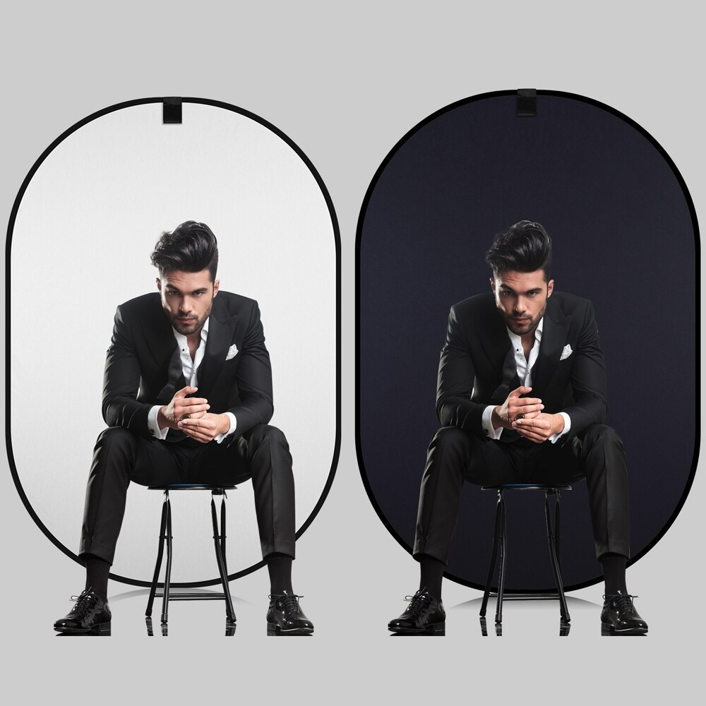 150*200cm 4 in1 Photography Collapsible Reflector Portable Chromakey Backdrop Blue Green/Black White Screen Background For Video enlarge