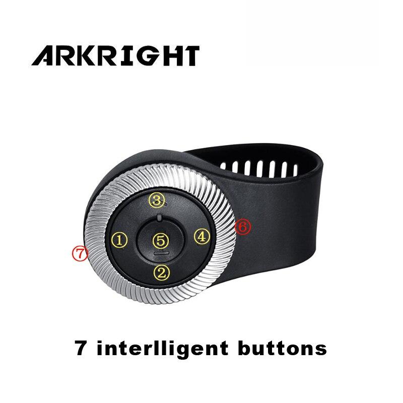 Mando a distancia inalámbrico de volante Universal para coche ARKRIGHT para sistema Multimedia de Radio de coche Android