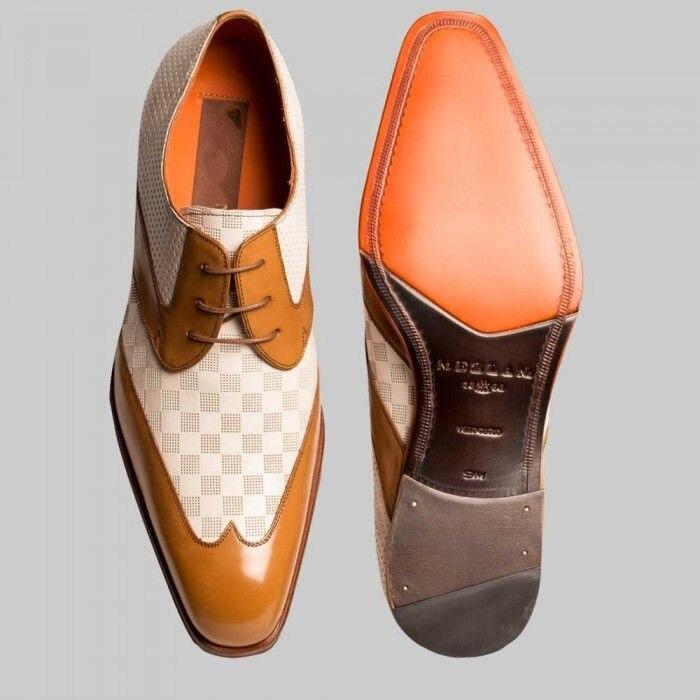 Классические мужские классические туфли, искусственная кожа, классические винтажные, повседневные, Дерби, HB222