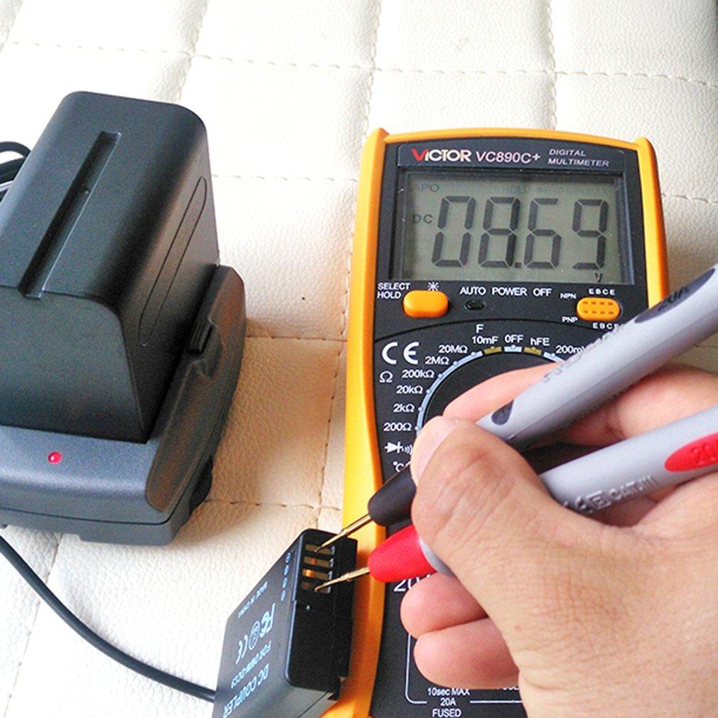 Cable de alimentación CC de 5,5x2,5 a 4,0x1,7mm mejora el Votage a 8,7 V para acoplador DMW DCC8 DCC9 DCC11 DCC12 ajuste NP-F970 soporte de batería
