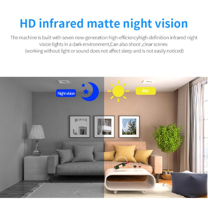 W18 1080P HD Wireless WiFi Camera IR Night Vision Home Security IP Camera Motion Detection Baby Monitor Wireless DVR Camcorders