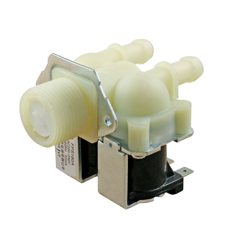 1PC Universal Water Double Inlet Valve Replacement for Washing Machine Laundry Home Electrical Appli