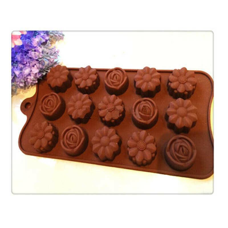 15 отверстий силиконовые желе/Фудж/Шоколад/кухонная форма/Шоколад/печенье/Торт/силиконовая форма «сделай сам»/инструменты для украшения