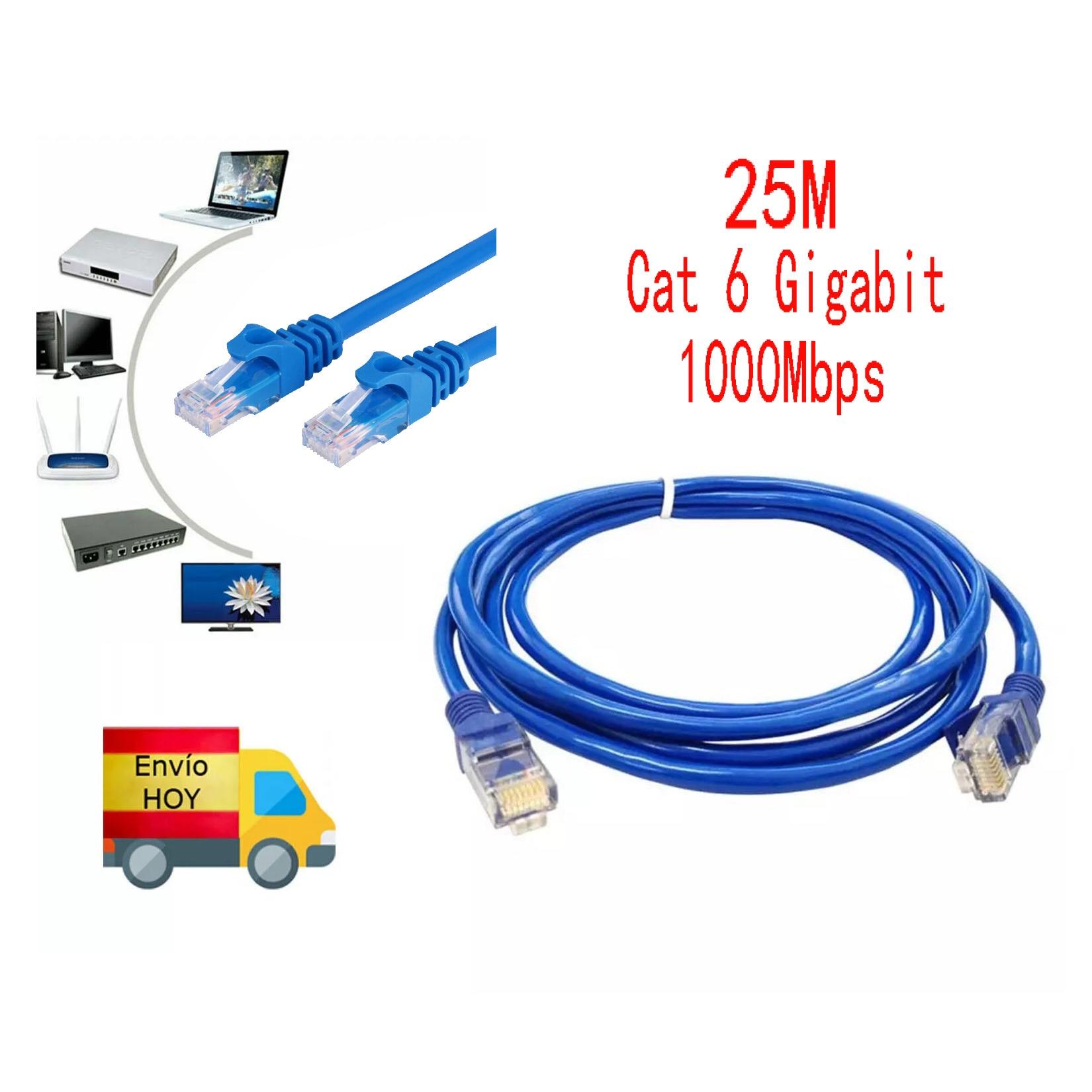 Cable de red rj45 compatible con android inteligente m3u IOS PC de...