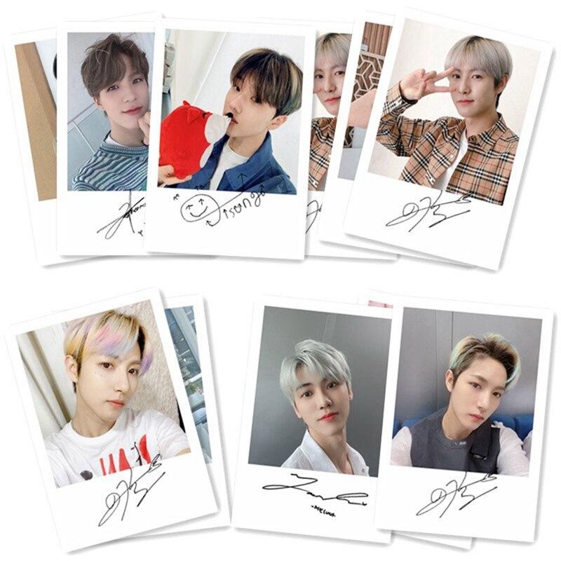 40 unids/set Kpop NCT 127 sueño LOMO tarjeta para álbum de fotos Colección Selfie firma RENJUN Jeno HAECHAN Jaemie Chenle Jisung