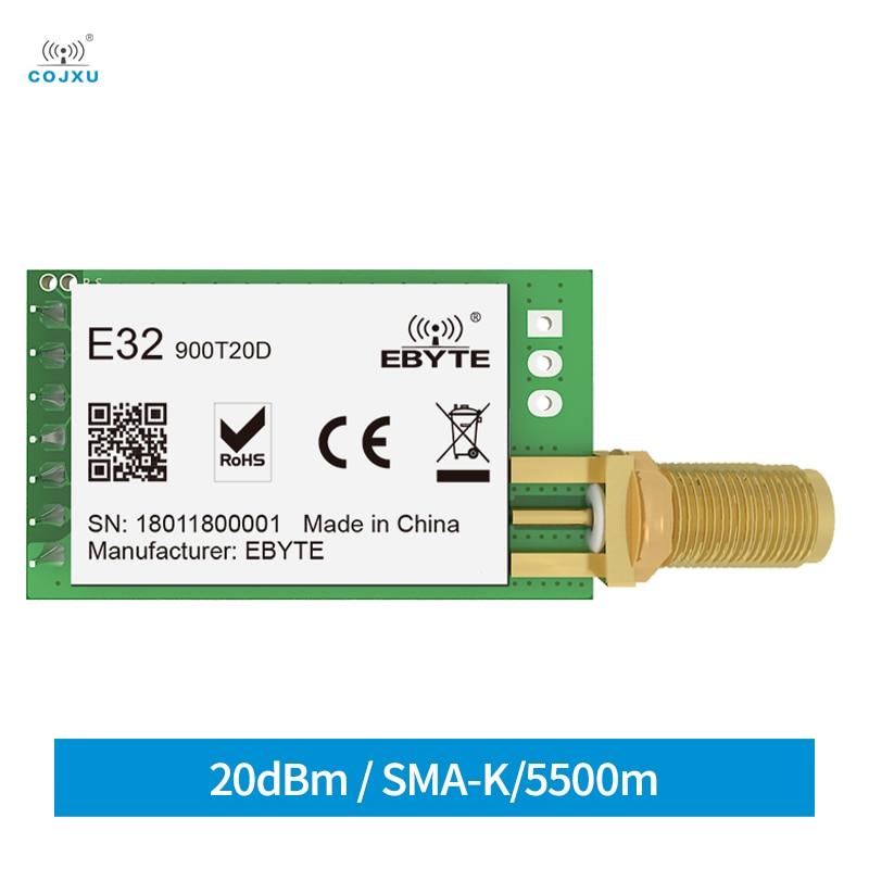 868mhz 915mhz cojxu e43 900t13s3 low cost iot module development board uart wireless transceiver transmitter receiver E32-900T20D LoRa SX1276 Module RF UART 868/915MHz 20dBm 5.5km Wireless Transceiver Transmitter Receiver Module For IOT