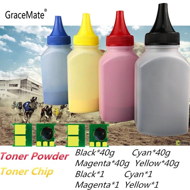 GraceMate 5AA polvo de Color CRG 329 CRG329 tóner y chip para Canon LBP7010 LBP7010C LBP7018 LBP7018C impresora láser