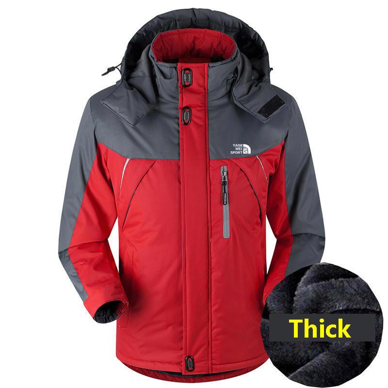 Winter Jacket Men Lightweight Hooded Zipper Waterproof Coat 2021 Windproof Warm Solid Color Fashion Male Coat Outdoor Sportswear