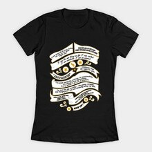 Tee shirt femme citation musicale Hamilton