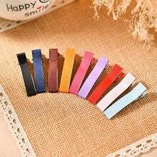 10PCS Rippen Band Hairclip 4,8 cm Hairbows Chic Haar Zubehör Mode Haarspange Haar snap clip DIY Clip Headwear zubehör
