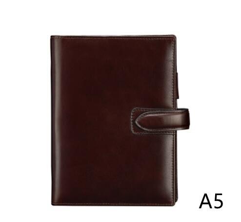 Genuine Leather A5 Agenda Planner Organizer 2021 Leather A5 Budget Planner Organizer Wallet Journal Notebook Moterm Planner