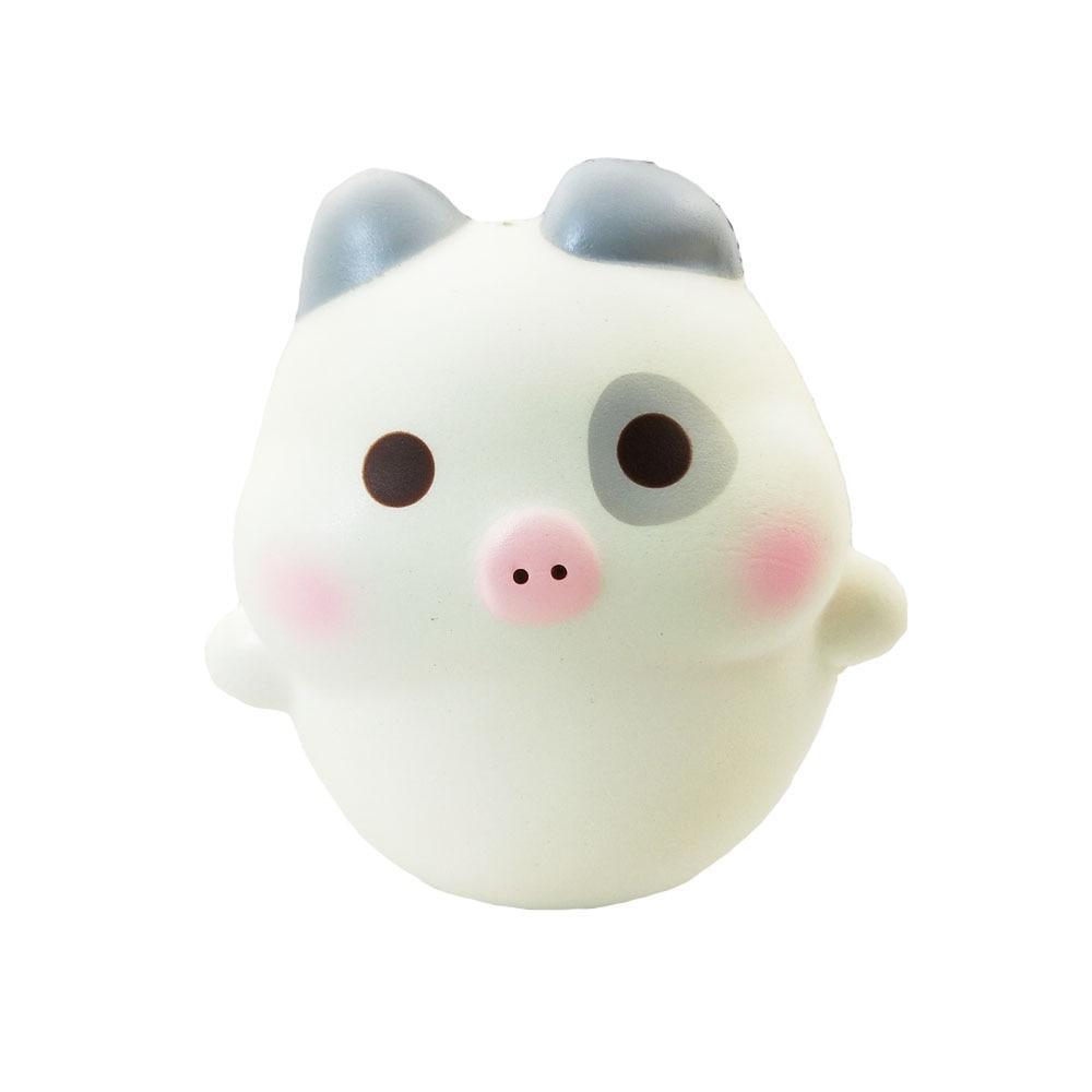 Creamiicandy Squishy animal fluorescencia cerdo apretar lentamente rebote aliviar la presión de la vida niños como juguetes de descompresión