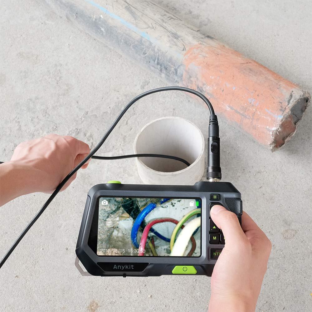 Dual Lens Endoscope Camera with 5