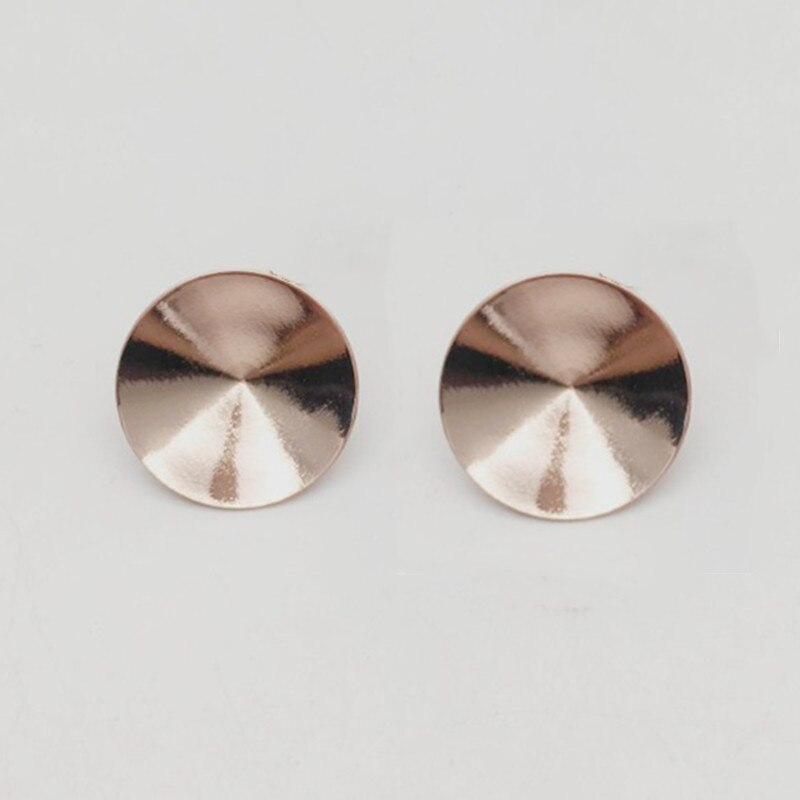Ms.Betti Rivoli Stud Earrings Fitting 1122 8 10 12 14mm Copper Settings With 925 Needle Back For Jewelry DIY Making
