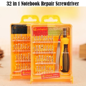32 In 1 Disassemble Screwdriver Set Repair Tool Kit Computer Phone Open Tool Set Multifunctional Alloy Screwdriver Hand Tool Kit