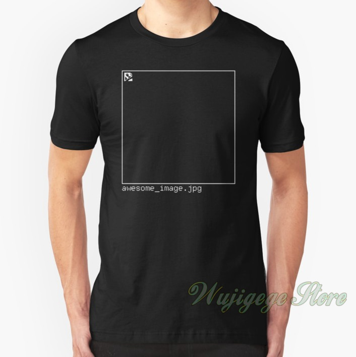 The Flash (Ciscos shirt) awesome_image.jpg Tshirt men Short sleeve women t-shirt Casual tops tee Cotton summer T-Shirts